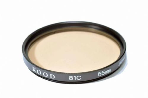 High Quality Optical Glass 81C Filter Made in Japan 55mm Kood